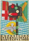 FRANCISCO DE A. GALI (1880-1965). EXPOSICION INTERNACIONAL / BARCELONA. 1929. 64x44 inches, 162x112 cm. I. G. Siex & Barral Herms, Barc