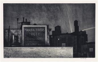 ARMIN LANDECK Manhattan Nocturne.