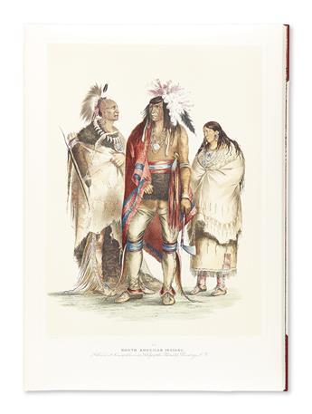 (AMERICAN INDIANS.) Catlin, George. Catlins North American Indian Portfolio.