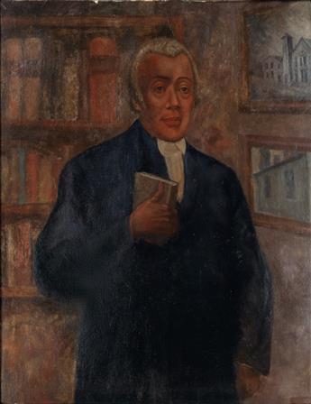 BERNARD GOSS (1913 - 1966) Portrait of Richard Allen.
