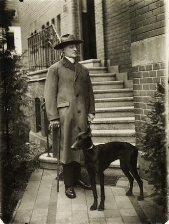 AUGUST SANDER (1876-1964)/GUNTHER SANDER (1907-1987) The Notary.