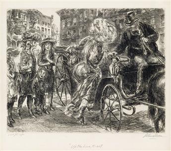 JOHN SLOAN Group of 4 etchings.