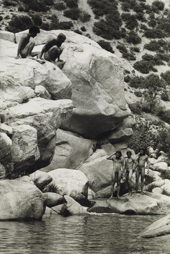 CRAWFORD BARTON (1943-1993)  Deep Creek, Mojave.