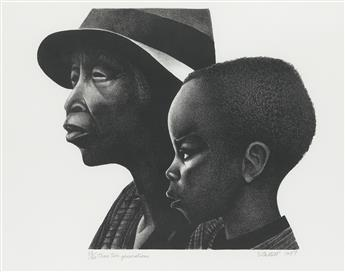 ELIZABETH CATLETT (1915 - 2012) Two Generations.