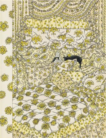 EDWARD GOREY. (THE NEW YORKER / COVER) Cat Fancy.