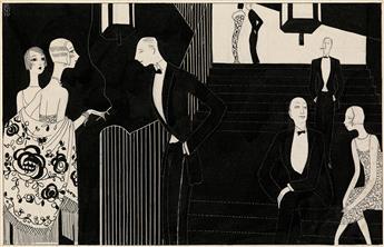 THEATER FASHION EDOUARDO BENITO. 'After the Opera.'