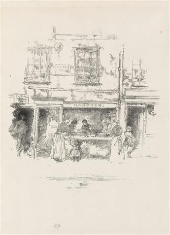 JAMES A. M. WHISTLER Maunders Fish Shop, Chelsea.