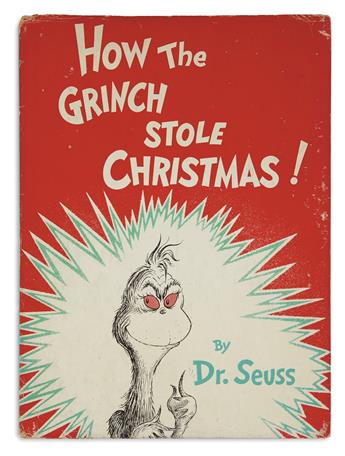 (CHILDRENS LITERATURE.) SEUSS, DR. (Theodor Geisel.) How the Grinch Stole Christmas.
