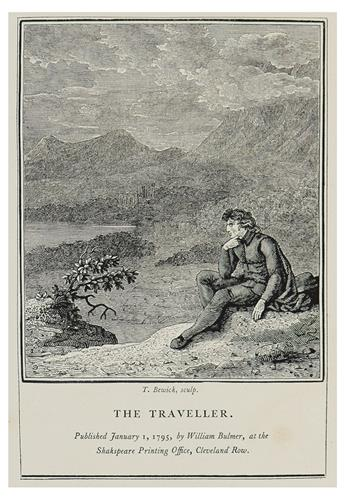 GOLDSMITH, OLIVER; and Thomas Parnell / [BEWICK, THOMAS.] Poems by Goldsmith and Parnell.