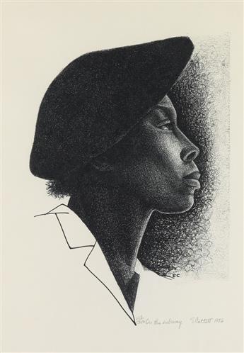 ELIZABETH CATLETT (1915 - 2012) On The Subway.