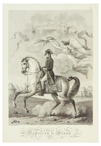 VERNET, CARLE. Tableaux Historiques des Campagnes dItalie, depuis lAn IV jusqua la Bataille de Marengo.