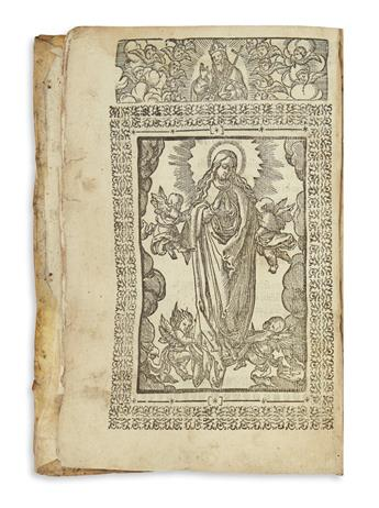 (MEXICAN IMPRINT--1607.) Mijangos, Juan de. [Espeio divino en lengua mexicana.]