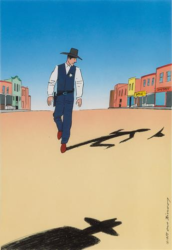 GUY BILLOUT. Sheriffs Shadow.