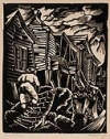 HALE ASPACIO WOODRUFF (1900 - 1980) Shantytown.
