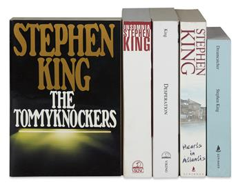 KING, STEPHEN. Group of 5 Uncorrected Proofs.