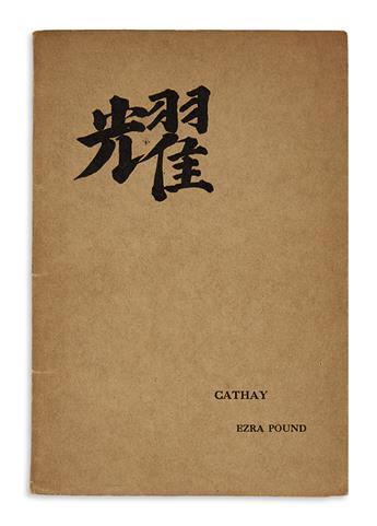 POUND, EZRA. Cathay.