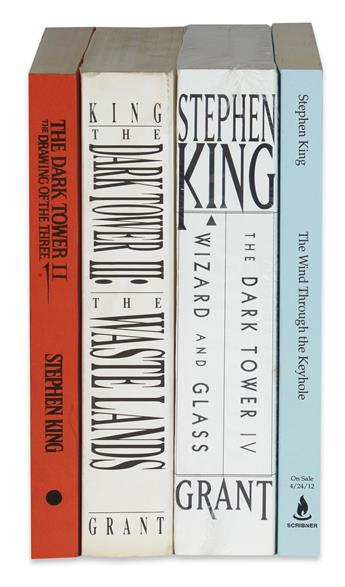KING, STEPHEN. Group of 4 Advance Copies from the Dark Tower Series.