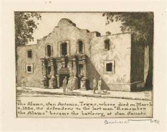 WALL, BERNHARDT / TEXAS. Following General Sam Houston 1793-1863.