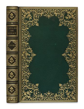 DORAT, CLAUDE-JOSEPH.  Fables Nouvelles.  2 vols. in one.  1773[-75]