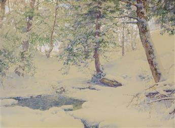 WALTER LAUNT PALMER Ravine at Arkville, New York.