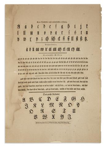 (OHIO.) Nothnagel & Co. Kleine Buchstaben nach alphabetischer Ordnung.
