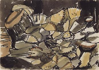ARTHUR DOVE Study for Woodpile.