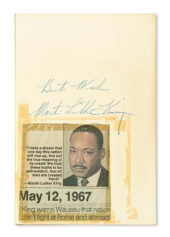 (CIVIL RIGHTS--KING MARTIN LUTHER JR.) BENNETT, LERONE JR. What Manner of Man.