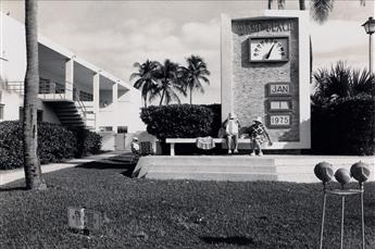 LEE FRIEDLANDER (1934- ) Miami Beach, January 1.