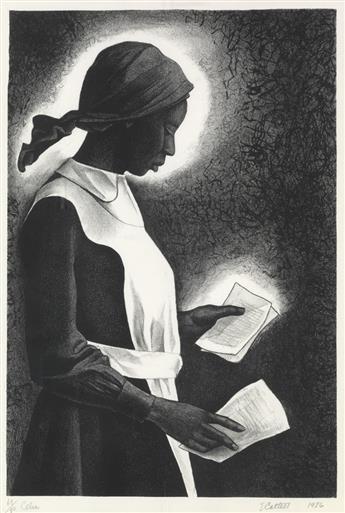 ELIZABETH CATLETT (1915 - 2012) Celie.