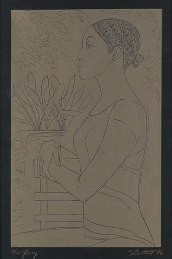 ELIZABETH CATLETT (1915 - 2012) Glory.