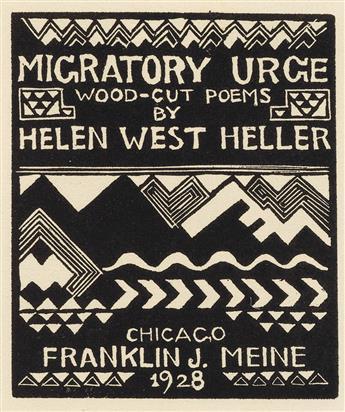 HELLER, HELEN WEST / AMERICAN ART. Migratory Urge.