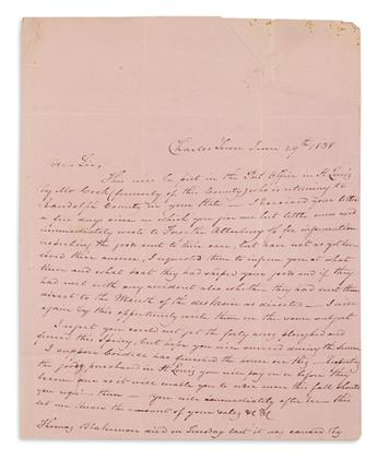 (MISSOURI.) Archive of merchant and postmaster John W. Luke.