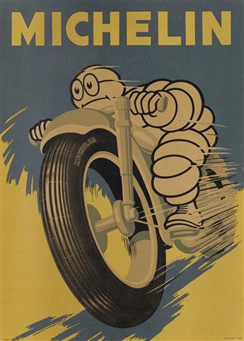 DESIGNER UNKNOWN. MICHELIN. 1959. 26x18 inches, 67x47 cm. Verga, Milan.
