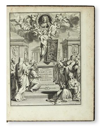 PHAEDRUS, attributed to. Fabularum Aesopiarum libri V.  1701