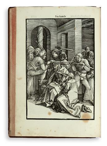 PINDER, ULRICH. Speculum passionis domini nostri Jhesu christi.  1507
