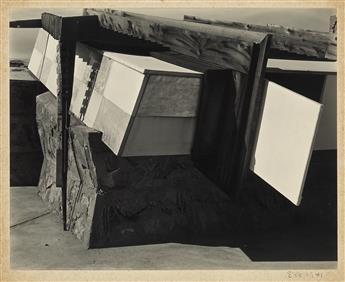 EDWARD WESTON (1886-1958) Taliesin West, Phoenix Arizona (Frank Lloyd Wrights Studio).