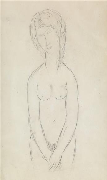 AMEDEO MODIGLIANI Femme nue.