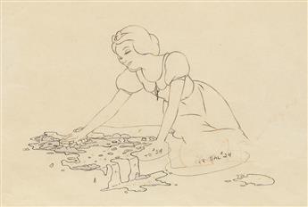 (FILM / ANIMATION.) WALT DISNEY STUDIOS. Snow White.