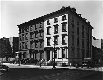 BERENICE ABBOTT (1898-1991) Fifth Avenue Houses, #4, 6, 8.