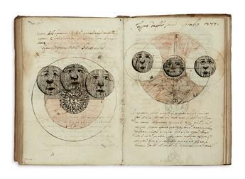 MANUSCRIPT.  Disputat[ion]es in octo libros Phys[ic]o[rum] Aris[tote]lis.  Illustrated manuscript in Latin on paper.  1647