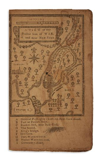 (AMERICAN REVOLUTION--1776.) Low, Nathaniel. An Astronomical Diary; or, Almanack, for . . . 1777.