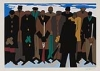 JACOB LAWRENCE (1917 - 2000) The Legend of John Brown.