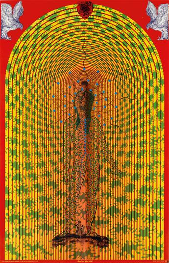SÄTTY (WILFRIED PODRIECH, 1939-1982). [PSYCHEDELIC.] Group of 3 posters. 1967. Sizes vary. East Totem West, Mill Valley, CA.
