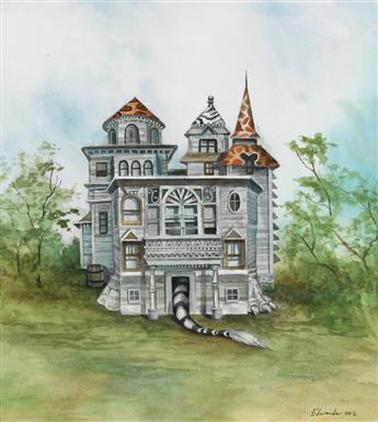 WALLACE EDWARDS. Animal House Illustrations.