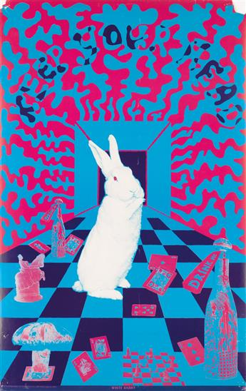 JOSEPH MCHUGH (1939- ). [PSYCHEDELIC / ALICE IN WONDERLAND.] Group of 3 posters. 1967. Sizes vary. East Totem West, Mill Valley, CA.