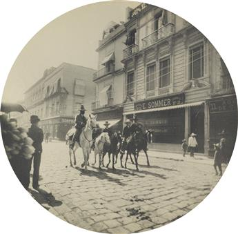 (MEXICO) Compelling group of 32 uniformly composed circular photographs chronicling local life in Mexico and South America.