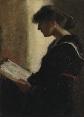 LEOPOLD SEYFFERT Portrait of Helen Fleck.
