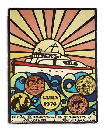 (CUBA.) Group of 11 posters relating to Cuba.