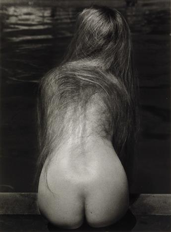 RUTH BERNHARD (1905-2006) At the Pool.