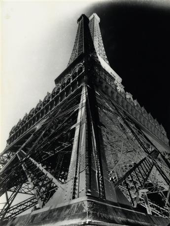 KOLLAR, FRANÇOIS (1904-1979) Double-impression of the Eiffel Tower.